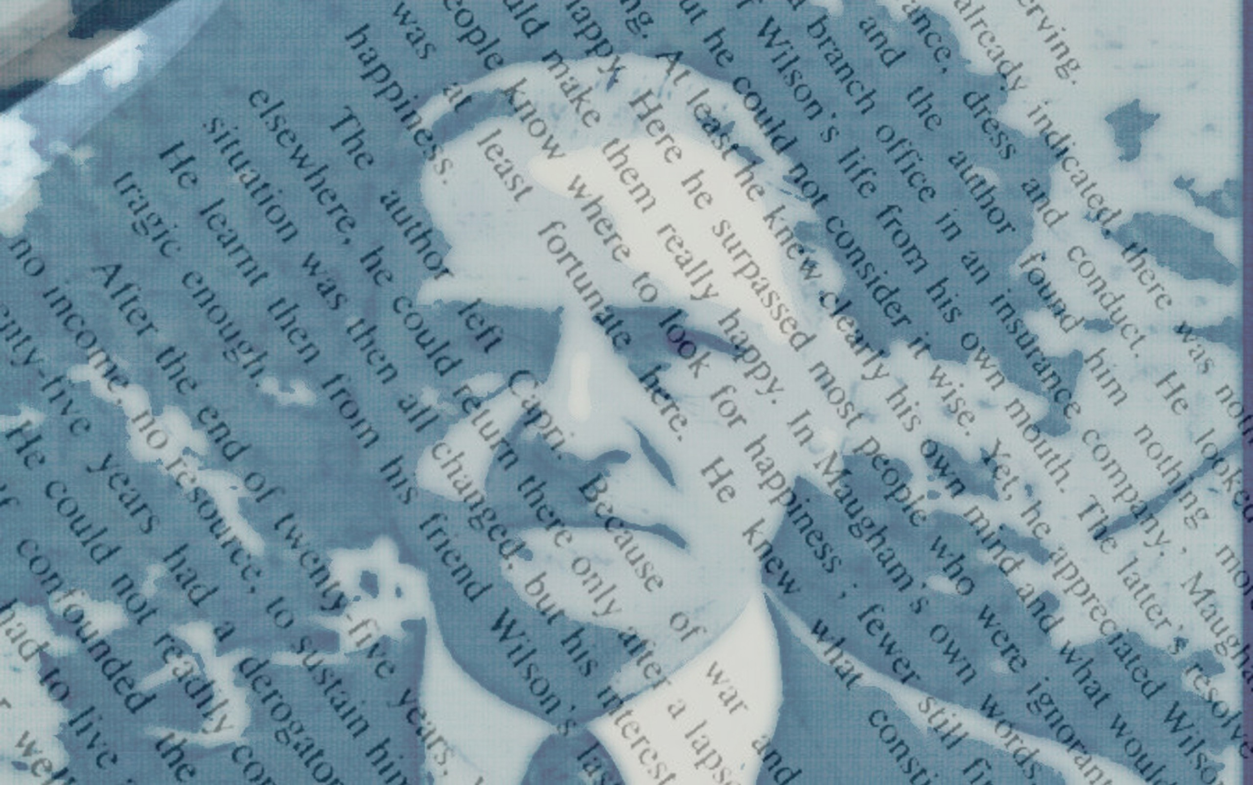 first-person narrator Maugham