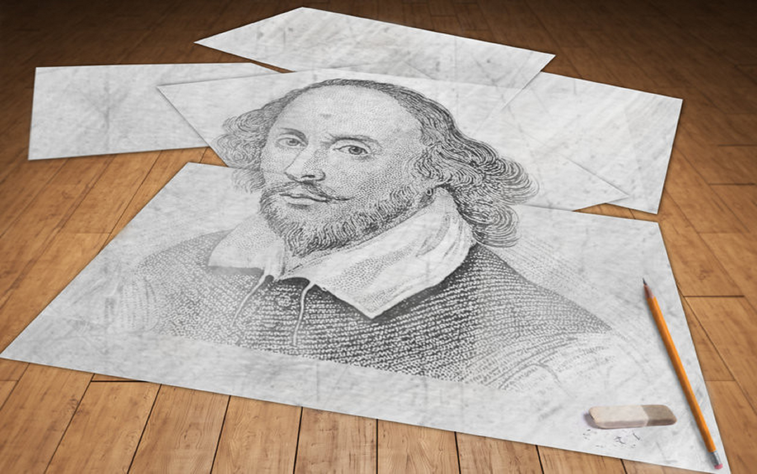 Shakespeare emerged as a perfectionist